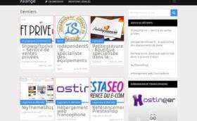 Axange.fr: annuaire spécialisé e-commerce