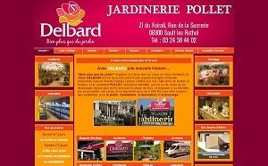 Site web de la Jardinerie Pollet à Rethel