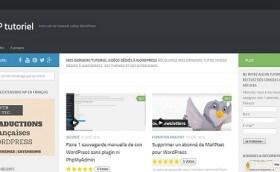 WP Tutoriel: pour apprendre à utiliser WordPress en toute sérénité.
